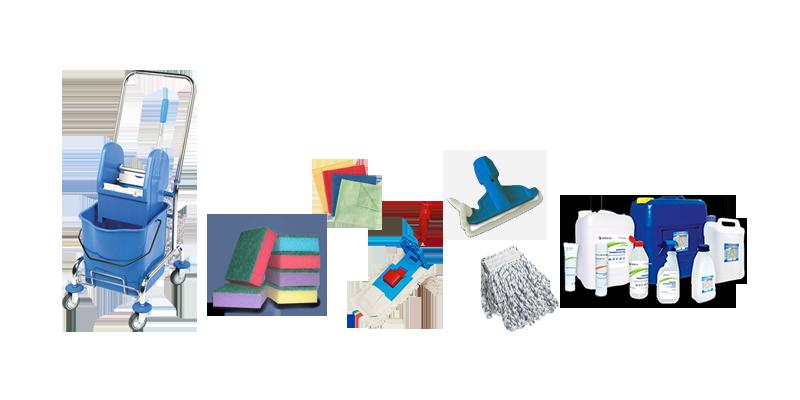 Профессиональные моющие средства и расходные материалы
